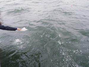 東京湾海洋散骨